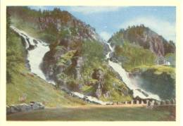 Norge, Norway, Latefoss, Hardanger, Mini Card [12731] - Other Collections