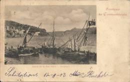 Souvenir De CONTANTINOPLE : Entrée De La Mer Noire - Bosphore - Cachet De La Poste 1903 - Turquie