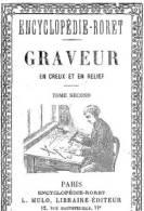 """EBook: """"Encyclopedia Pour GRAVEUR En Creux Et En Relief"""". 2 Volumes - Literatura"""