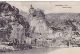 SAINT ENIMIE 48, GORGES DU TARN, CHÂTEAU DE CASTELBOUC - Other Municipalities