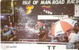 MAN-158 TARJETA DE LA ISLA DE MAN DE ROAD RACING (MOTO) - Isla De Man