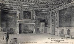 La Champagne Illustré Les Environs D'Epernay  Le Chateau De Montmoit- La Salle Des Gardes - Champagne-Ardenne