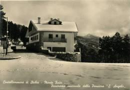 CASTELLAMMARE DI STABIA MONTE FAITO VISIONE INVERNALE DELLA PENSIONE S. ANGELO - Castellammare Di Stabia