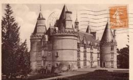 Gençay.- Le Chateau De La Roche - Gencay