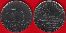 "Hungary 50 Forint 2005 Km#780 ""Children's Safety Service"" UNC - Ungarn"