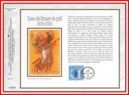 """CEF 1° Jour En SOIE De 2006 N° 1838s """" 100 ANS DE L´OPEN DE FRANCE DE GOLF """" N° YT 3935. Parfait état + Prix Dégressif"""