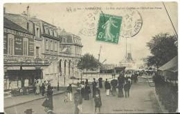 Loire  Atlantique :  SAINT  NAZAIRE :  La  Rue  Amiral - Courbet Et Hôtel Des  Postes - Saint Nazaire