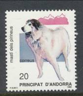 Andorra 1988, Spanish Post, Edifil # 206, MNH ** - Nuovi