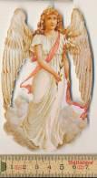 Diecut Embossed Christmas Angel C. 1900 Ange Engel - Motiv 'Weihnachten'
