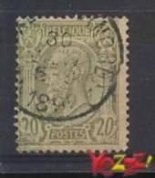 Belgie OCB Nr 47 Gebruikt/used - 1869-1883 Léopold II