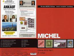 Stamp Michel CHINA Catalogue 2013 New 74€ East-Asia Part 9 I Ch Macao Hongkong Taiwan RofCh Tibet ISBN 978-3-95402-036-2 - Creative Hobbies
