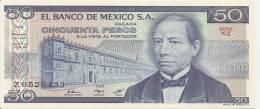 MEXIQUE 50 PESOS  1981  UNC P 73 - Mexique