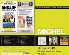 Junior 2013 MlCHEL Briefmarken Katalog Neu 10€ Deutschland DR III.Reich Danzig Saar Berlin SBZ DDR BRD 978-3-95402-011-9 - Old Paper