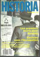 HISTORIA N° 513 Septembre 1989 Dantzig / Cocteau / Lazare Carnot / L'aérostation - Historia