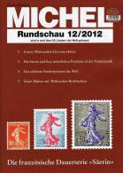 MICHEL Briefmarken Rundschau 12/2012 Neu 5€ New Stamps Of The World Catalogue And Magacine Of Germany - Unclassified