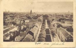 CREFELD - Totalansicht - Craemers Kunstanstalt Dortmund N° 17 3104 - Krefeld