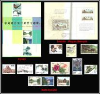 China - People's Republic Of - Special Edition Booklet ( All Joint Issues With China 1990 - 1998 ) - MNH (**) - Gebraucht