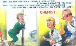 TAYLOR: Le Laxatif Qui Enlève L´envie De Tousser [ Humour Anglais Pharmacie 2012 XI47 ] - Humour