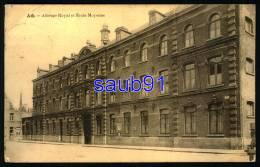 Ath  - Athénée Royal Et école Moyenne   -  1927  - Réf : 27626 - Ath