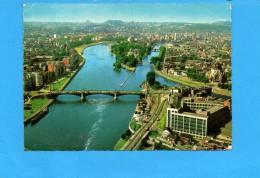 LIEGE : Confluence De La Meuse Et De L'ourthe Année 1968 (écrite Et Voyagée) - Liege