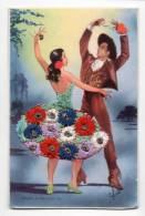 Fantaisie-16619-BAILES ANDALUCES---------carte Brodée------danse Espagnole - Bestickt