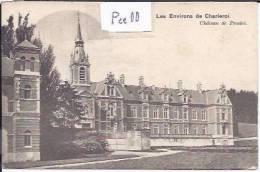 CHATELINEAU :LES ENVIRONS DE CHARLEROI;  CHATEAU DE PRESLES - Châtelet