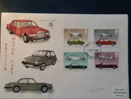 31/585   FDC   G.B. - Cars