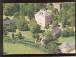 53 St Berthevin Les Laval Les Brosses édit. Helicolor N° 14 18 16 001 Aérienne Chateau - Andere Gemeenten