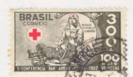 Brazil  B 6  (o)  RED  CROSS - Brazil