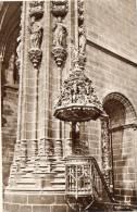 Plasencia.- Catedral.Pilar Y Pulpito - Espagne
