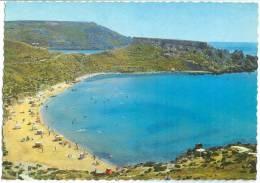 Malta, Ghain Tuffieha Bay, Unused Postcard [12815] - Malta