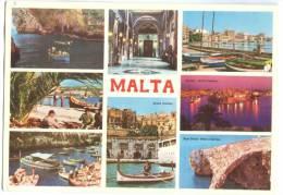 Malta, Multi View, Unused Postcard [12816] - Malta
