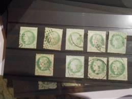 LOT 355.lot De Classiques Pour Obliteration,variétés,nua Nces.A VOIR!! - 1871-1875 Ceres