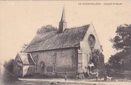 21342- 56 - La Croix Hellean ,chapelle Saint Mandé . Librairie Catholique, Chalon Sur Saone. Cliché J.G.