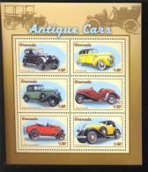 GRENADA SHEET AUTOS CLASSIC CARS KLASSIEKE AUTO´S CARROS CLÁSSICOS VOITURES CLASSIQUES AUTO CLASSICHE - Auto's