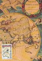 D09959 CARTE MAXIMUM CARD FD 1988 NETHERLANDS - MAP OF AUSTRALIA 200 YEARS CP ORIGINAL - Aardrijkskunde