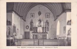 21354 -56 - SAINT GORGON . Intérieur De L' église .. 1542 éd ?