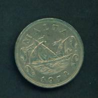 MALTA  -  1972  10 Cents  Circulated As Scan - Malta