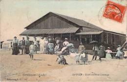 11 - Gruissan - La Plage, Etablissement Limouzy (colorisée) - France