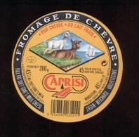 Etiquette De Fromage De Chèvre -  Caprisi  -  UCL à  Isigny  (Calvados) - Cheese