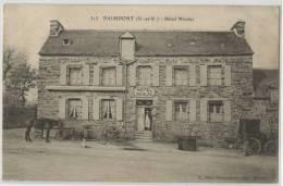 35 - PAIMPONT - HOTEL NICOLAS - Paimpont