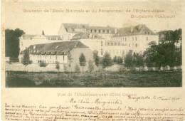 Brugelette - Ecole Normale Et Pens. De L´Enfant Jésus -Côté Ouest -1900 ( Voir Verso ) - Brugelette