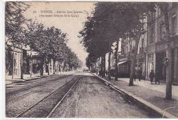 21362 -RENNES - Avenue Janvier, Ancienne Av De La Gare- 66 La Cigogne -tramway -
