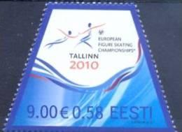 EE 2010-653 EU CHAMPIONSHIOP IN EICARTSCATING, ESTONIA, 1 X 1v, MNH - Estland