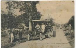 193 Le Service Postal En Automobile De Saigon A Tayninh Auto Des Postes PTT Taches Rouille - Vietnam