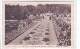 21365 -Rennes Monastere De Saint Cyr Grand Jardin Jour Fete-dieu . Arrivée Calvaire - - Rennes
