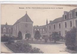 21366 -Rennes St Yves Hôpital Militaire N° 2 Guerre 1914-15-16 La Chapelle édit.mary Rousseliere Soldat Blessé - Rennes