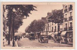 21378- RENNES (35 France) Avenue Janvier -41la Cigogne - Vieille Voiture Camion - Voitures De Tourisme