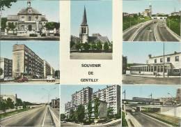 94 / GENTILLY SOUVENIR DE GENTILLY . MULTI-VUE - Gentilly