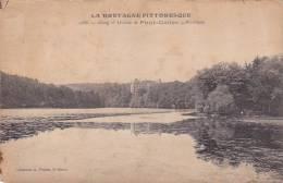 21383 Etang Et Chateau De Pont Callec -2886 Waron -mauvais état !!!
